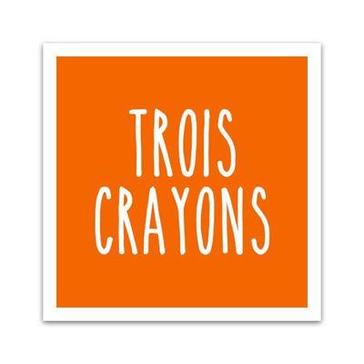 Image de la catégorie Collection Trois Crayons